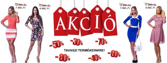 7b38761899 Üzleteinkben a termékek függőcimkéjén, már az akciós, kedvezménnyel  csökkentett ár szerepel, további kedvezmény nem kerül levonásra!